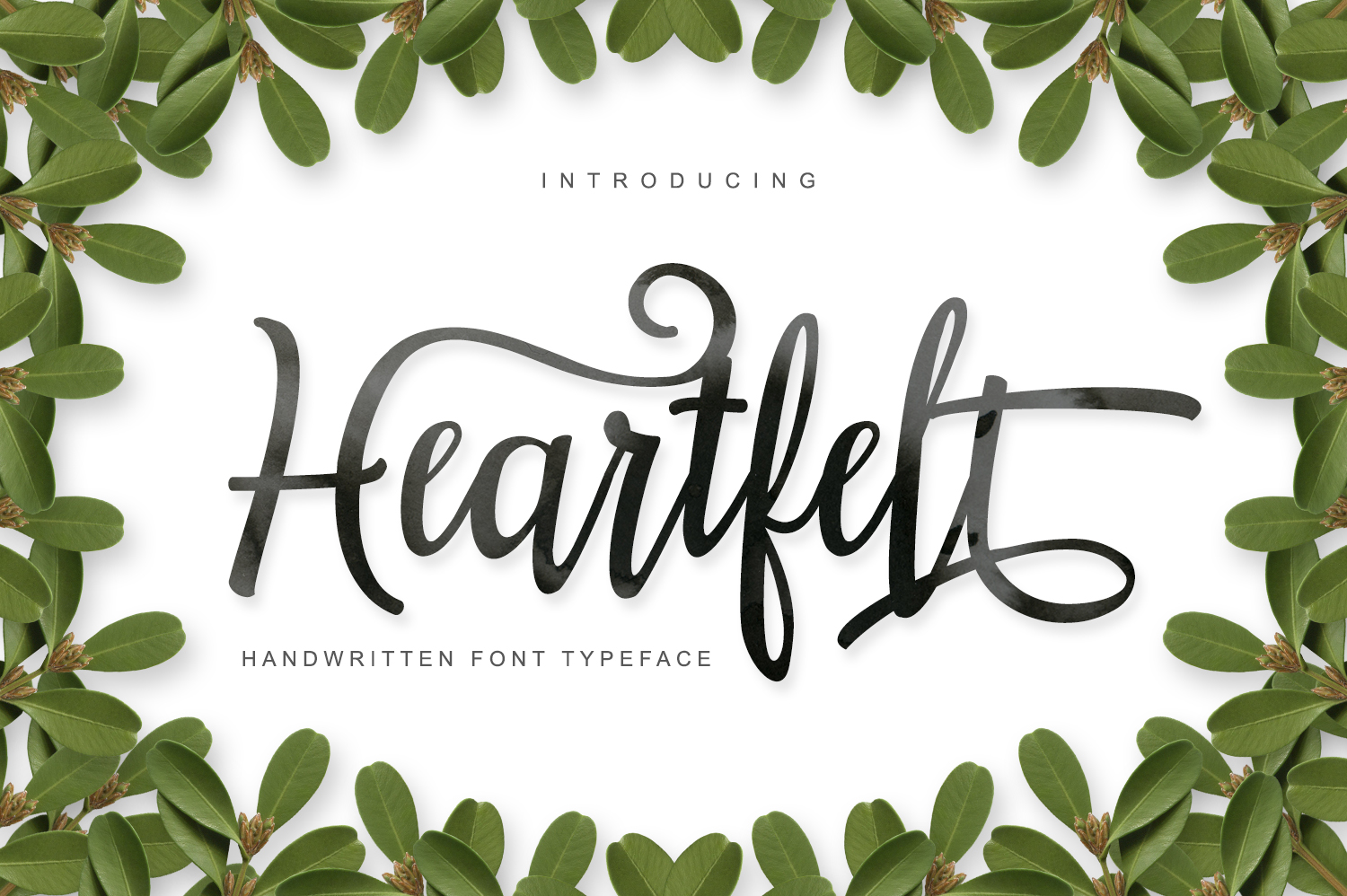 Heartfelt Script & Handwritten Font By No Gravity Type