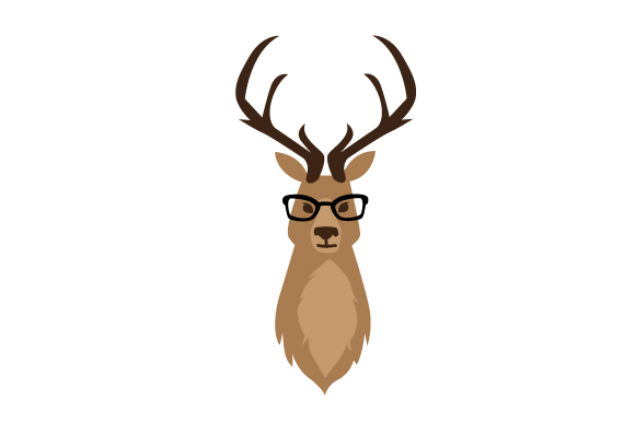 Download Free Hipster Deer Archivos De Corte Svg Por Creative Fabrica Crafts SVG Cut Files