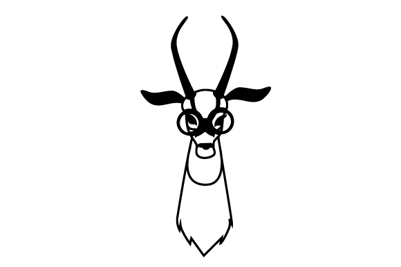 Download Free Hipster Gazelle Svg Cut File By Creative Fabrica Crafts for Cricut Explore, Silhouette and other cutting machines.
