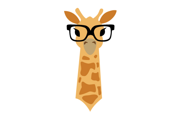 Download Free Hipster Giraffe Svg Cut File By Creative Fabrica Crafts for Cricut Explore, Silhouette and other cutting machines.