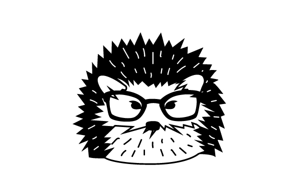 Download Free Hipster Hedgehog Svg Plotterdatei Von Creative Fabrica Crafts for Cricut Explore, Silhouette and other cutting machines.
