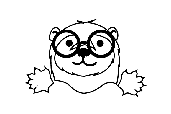 Download Free Hipster Otter Svg Cut File By Creative Fabrica Crafts Creative for Cricut Explore, Silhouette and other cutting machines.