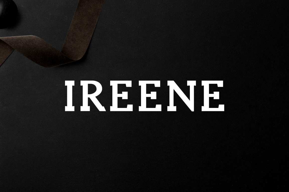Print on Demand: Ireene Serif Font By Creative Tacos