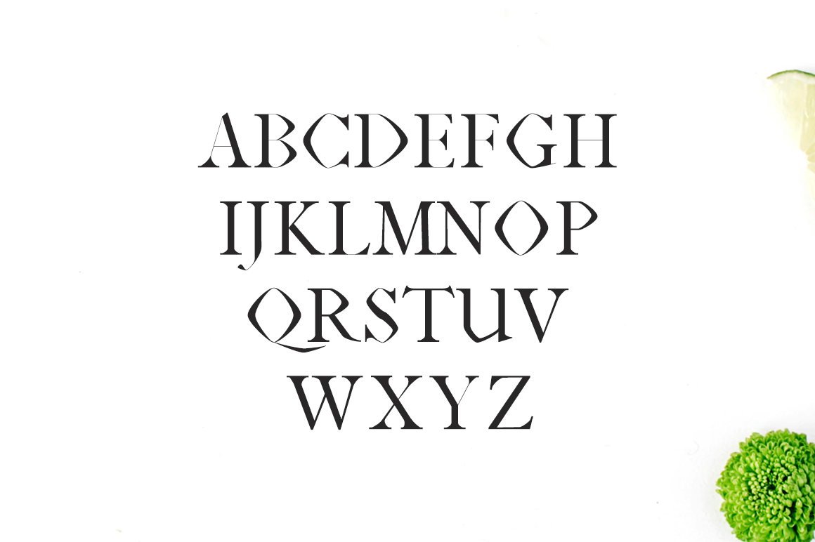 Print on Demand: Janecia Serif Font By Creative Tacos - Image 2