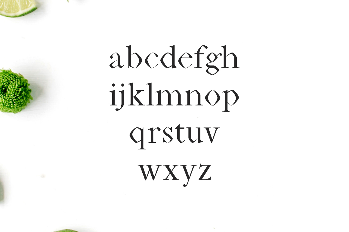 Print on Demand: Janecia Serif Font By Creative Tacos - Image 3