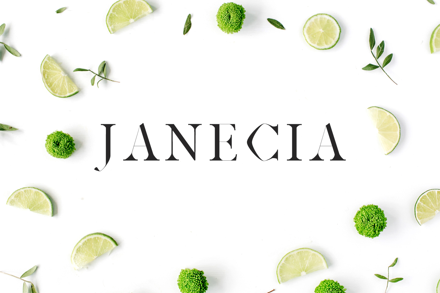 Print on Demand: Janecia Serif Font By Creative Tacos - Image 1