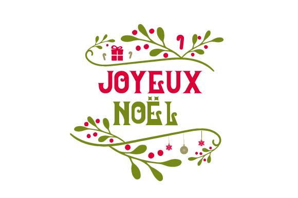 Joyeux Noël Christmas Craft Cut File By Creative Fabrica Crafts