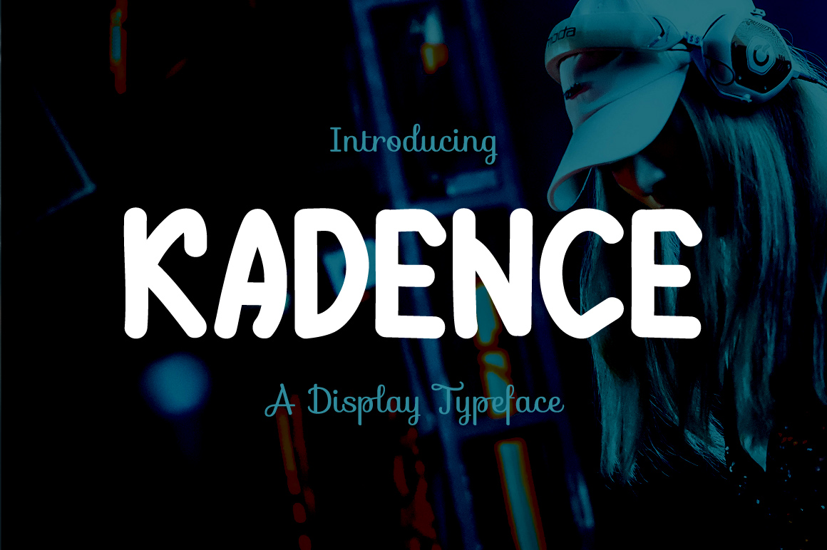 Print on Demand: Kadence Display Font By Contour Fonts