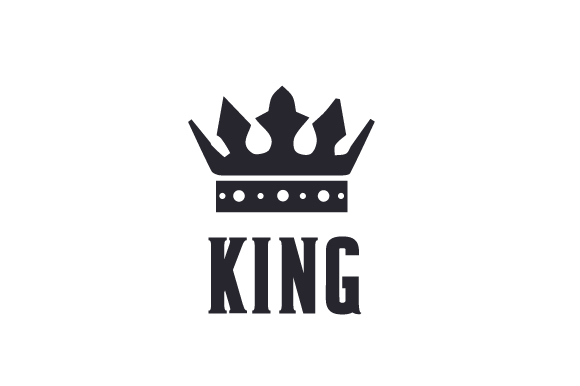 King Svg Cut File By Creative Fabrica Crafts Creative Fabrica