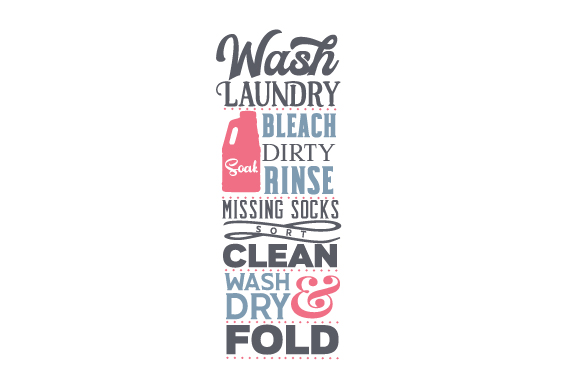 Laundry Room Subway Art Laundry Room Craft Cut File By Creative Fabrica Crafts