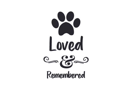 Loved & Remembered Dogs Craft Cut File By Creative Fabrica Crafts