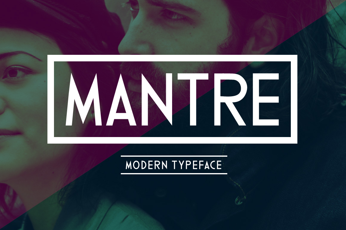 Print on Demand: Mantre Display Font By Contour Fonts