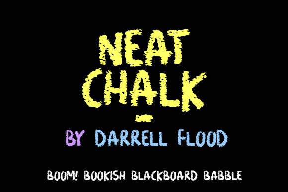 Print on Demand: Neat Chalk Decorative Font By Dadiomouse