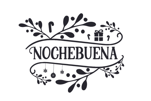 Nochebuena Christmas Craft Cut File By Creative Fabrica Crafts - Image 2
