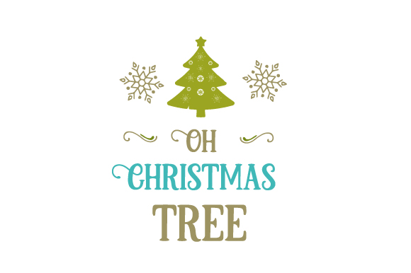 Oh, Christmas Tree Christmas Craft Cut File By Creative Fabrica Crafts