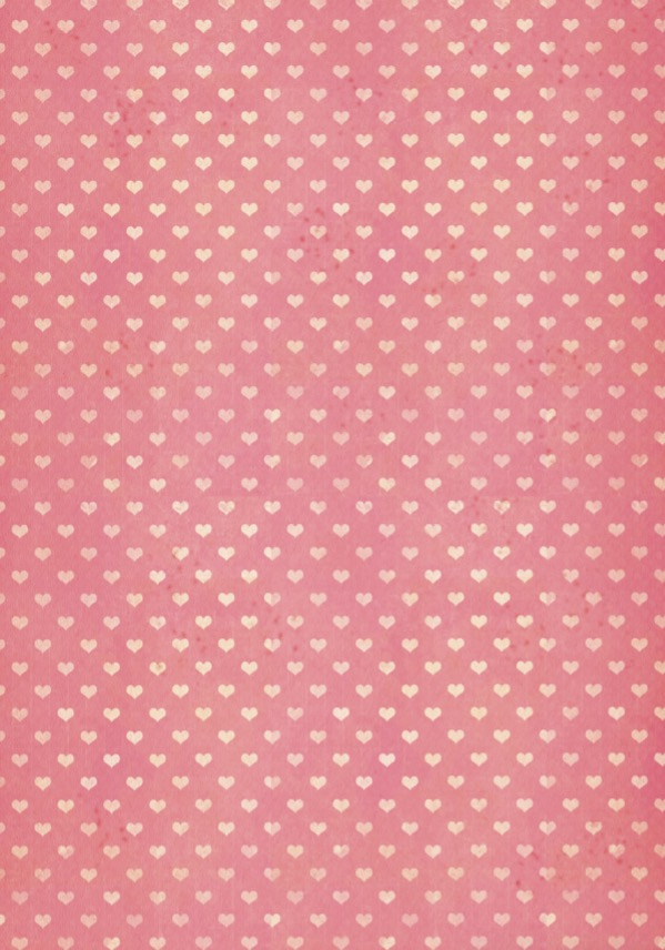 Print on Demand: Pink Hearts Wrapping Paper Texture Gráfico Moldes Por GraphicsBam Fonts
