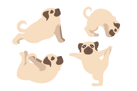 Download Free Dog Yoga Svg Cut File By Creative Fabrica Crafts Creative Fabrica for Cricut Explore, Silhouette and other cutting machines.
