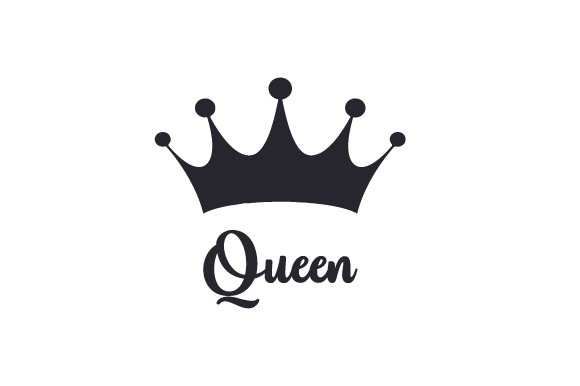 Download Free Queen Svg Cut File By Creative Fabrica Crafts Creative Fabrica for Cricut Explore, Silhouette and other cutting machines.