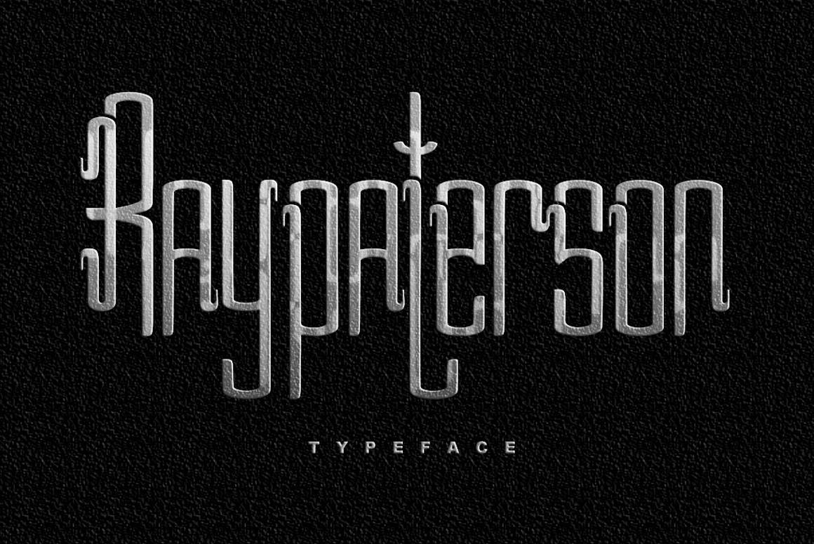 Print on Demand: Ray Paterson Decorative Font By Dhan Studio - Image 1
