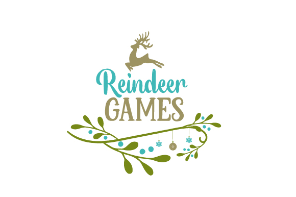 Download Free Reindeer Games Svg Cut File By Creative Fabrica Crafts for Cricut Explore, Silhouette and other cutting machines.