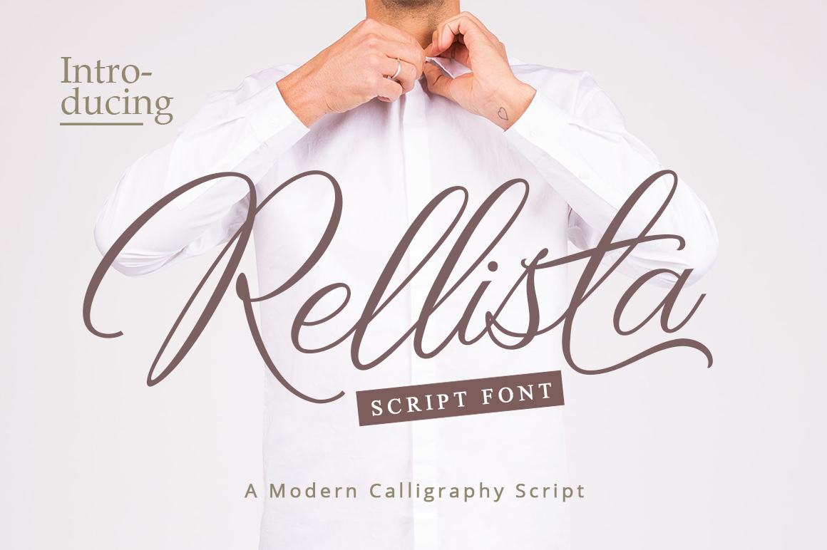 Print on Demand: Rellista Script Script & Handwritten Font By Mercurial