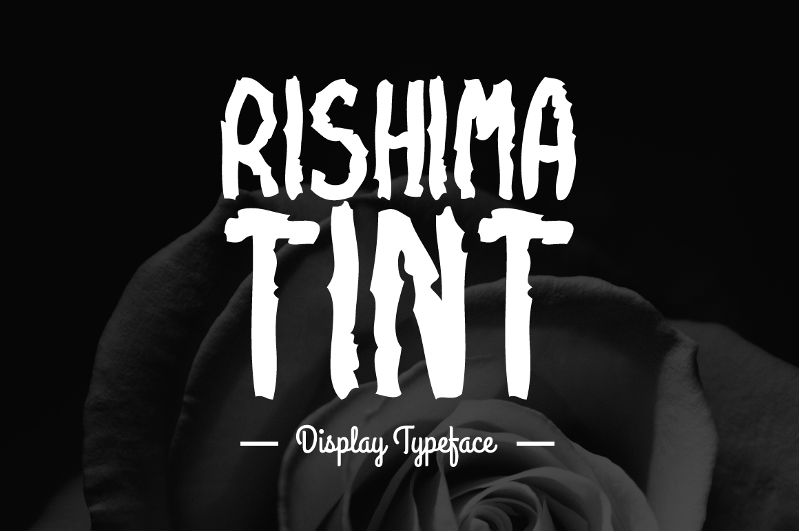 Rishima Tint Display Font By Contour Fonts