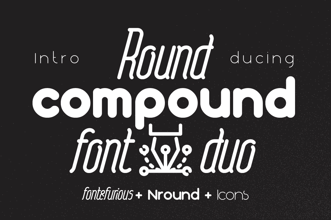Print on Demand: Round Compound Sans Serif Font By NREY