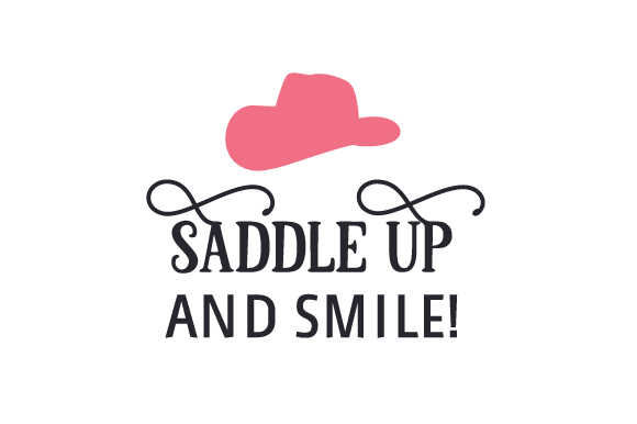 Saddle Up and Smile! Craft Design By Creative Fabrica Crafts