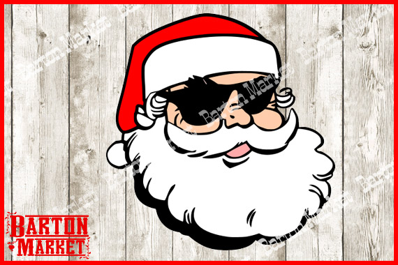 Santa Shades Graphic By Barton Market