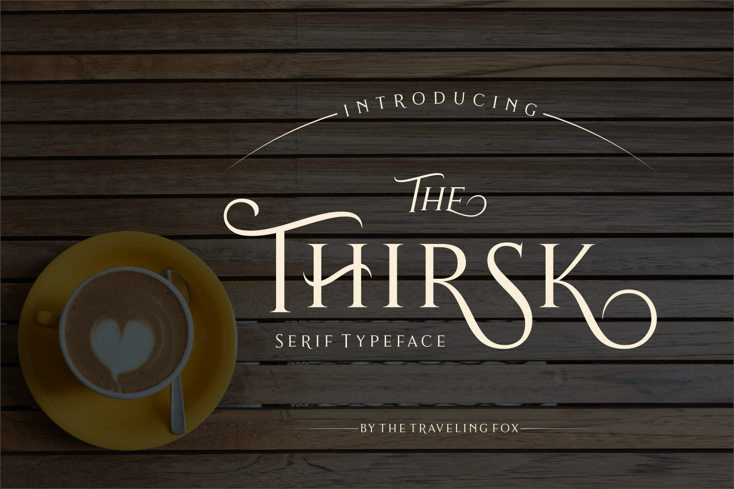 Print on Demand: Thirsk Serif Font By The Traveling Fox - Image 2
