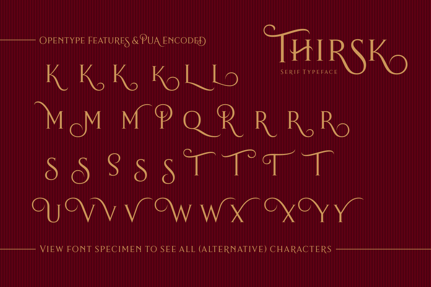 Print on Demand: Thirsk Serif Font By The Traveling Fox - Image 8
