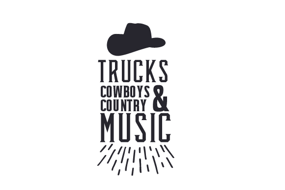 Download Free Trucks Cowboys And Country Music Svg Cut File By Creative for Cricut Explore, Silhouette and other cutting machines.