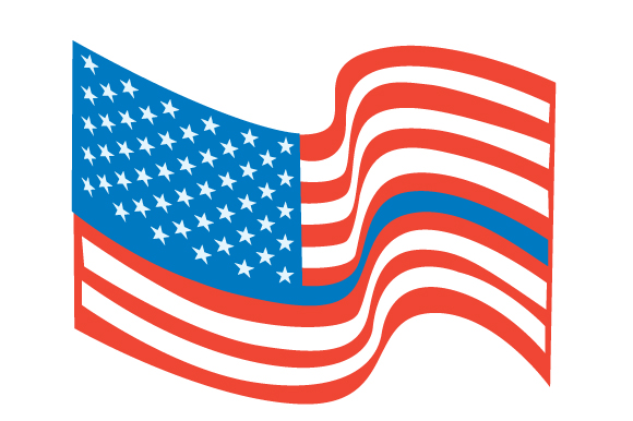 Download Free Usa Flag Blue Line Svg Cut File By Creative Fabrica Crafts for Cricut Explore, Silhouette and other cutting machines.