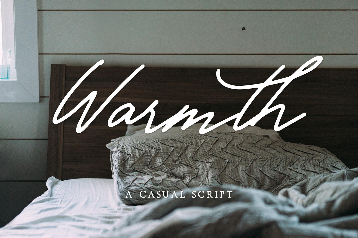 Print on Demand: Warmth Script & Handwritten Font By BeckMcCormick