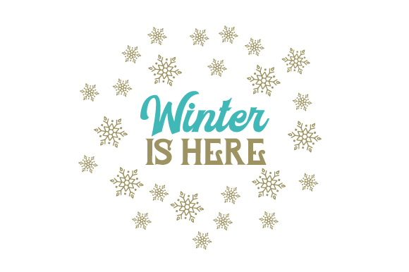 Winter is Here Craft Design By Creative Fabrica Crafts