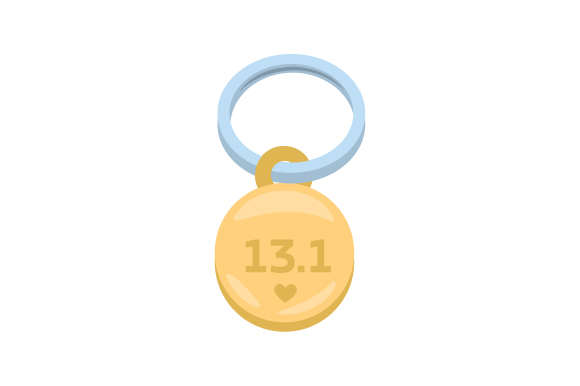 Runner Keychain 13.1 02 Designs & Drawings Craft Cut File By Creative Fabrica Crafts