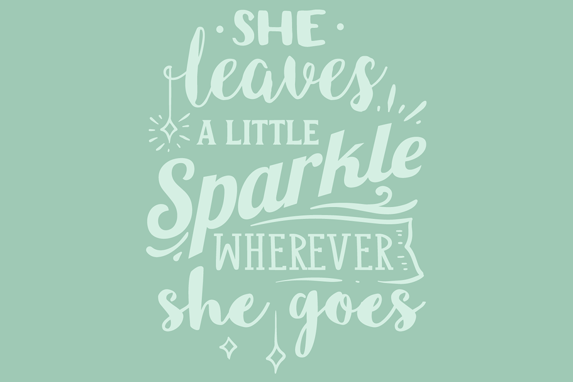 Download Free She Leaves A Little Sparkle Wherever She Goes Svg Cut File By for Cricut Explore, Silhouette and other cutting machines.