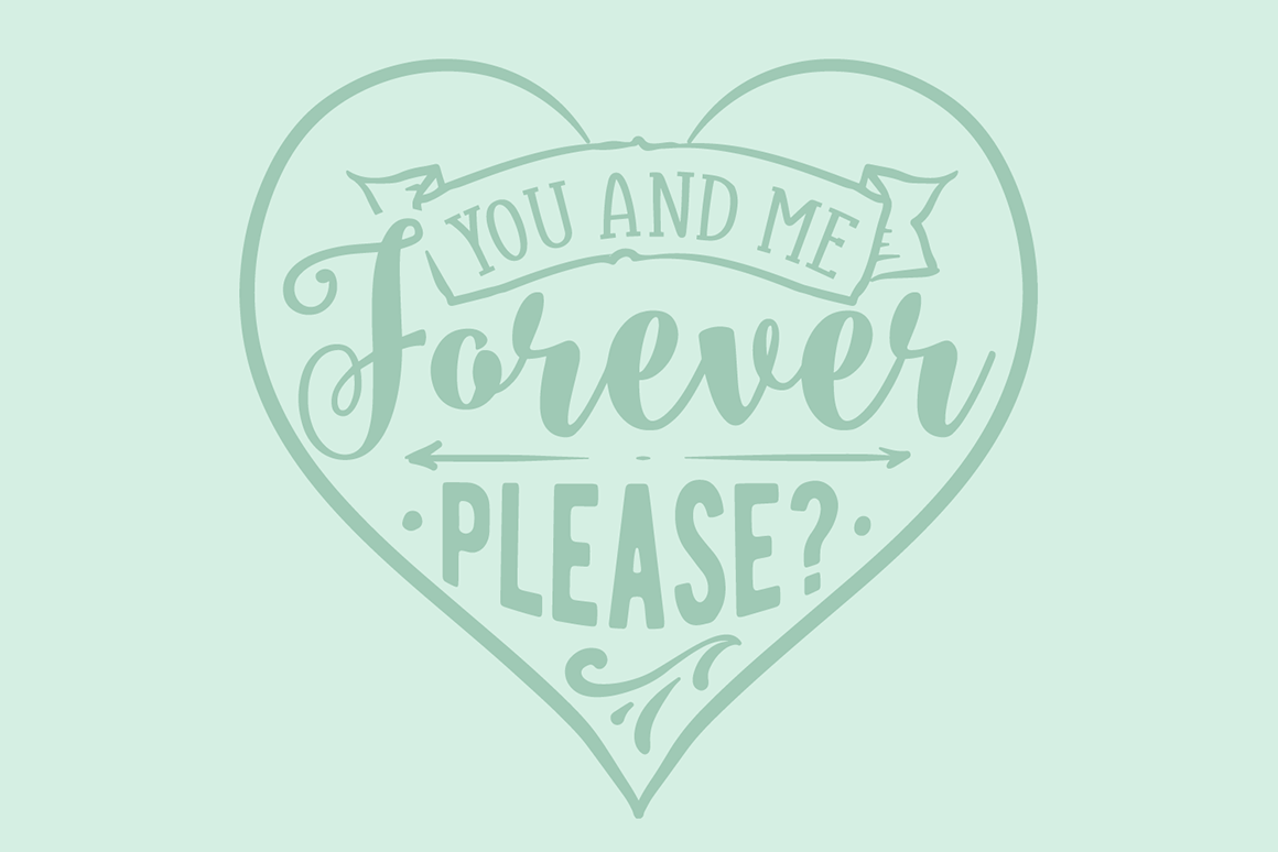 Download Free You And Me Forever Please Archivos De Corte Svg Por Creative for Cricut Explore, Silhouette and other cutting machines.