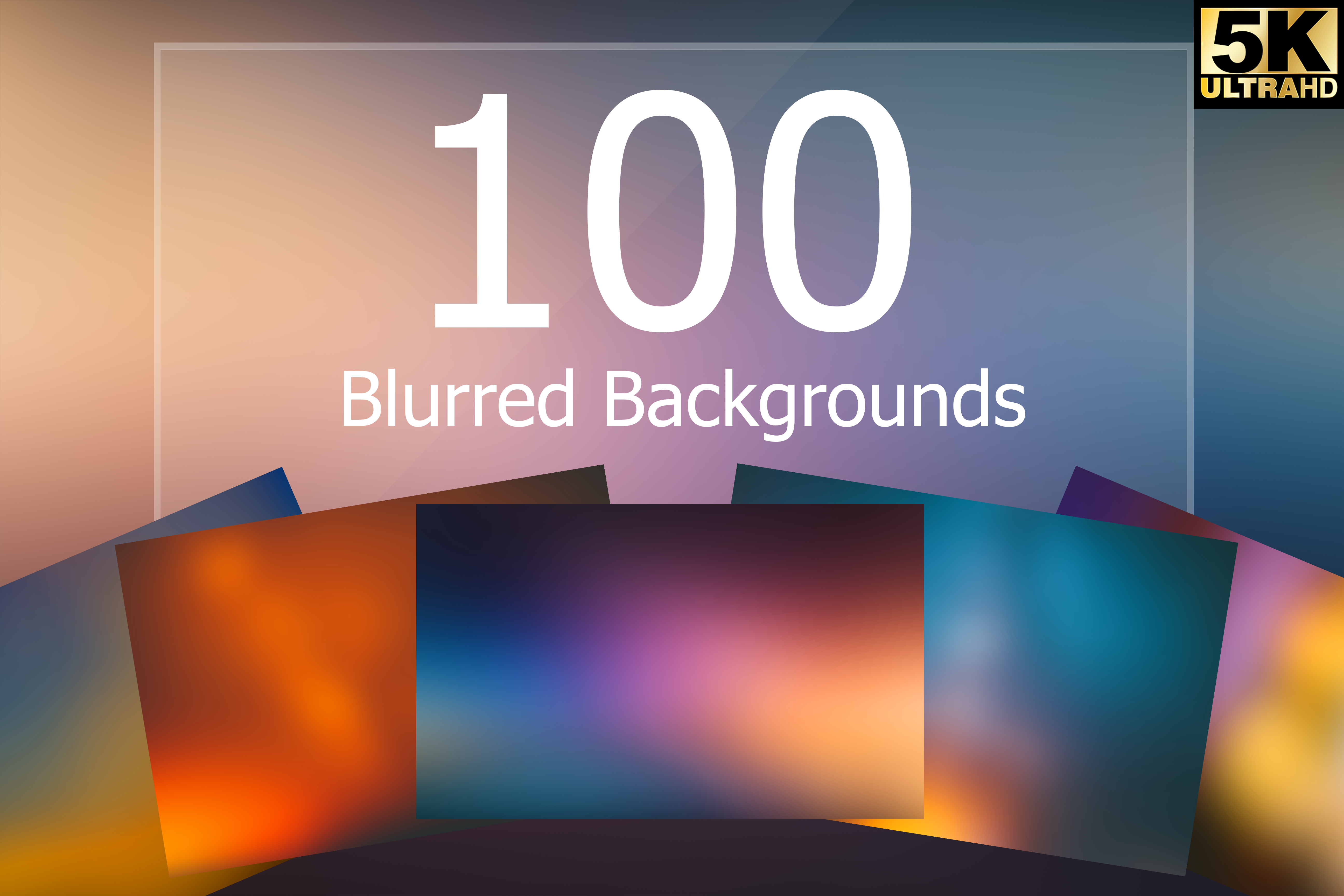 100 Blurred Backgrounds Graphic By Eldamar Studio