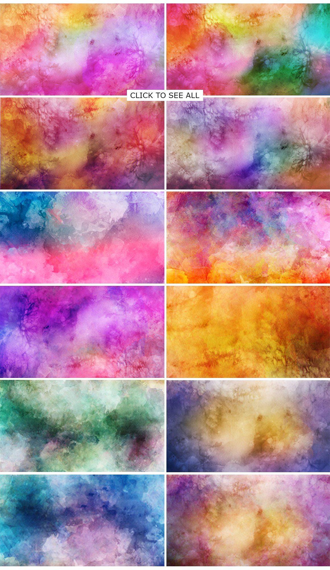 Print on Demand: 12 Watercolor 8K Backgrounds Graphic Backgrounds By Creative Tacos - Image 4