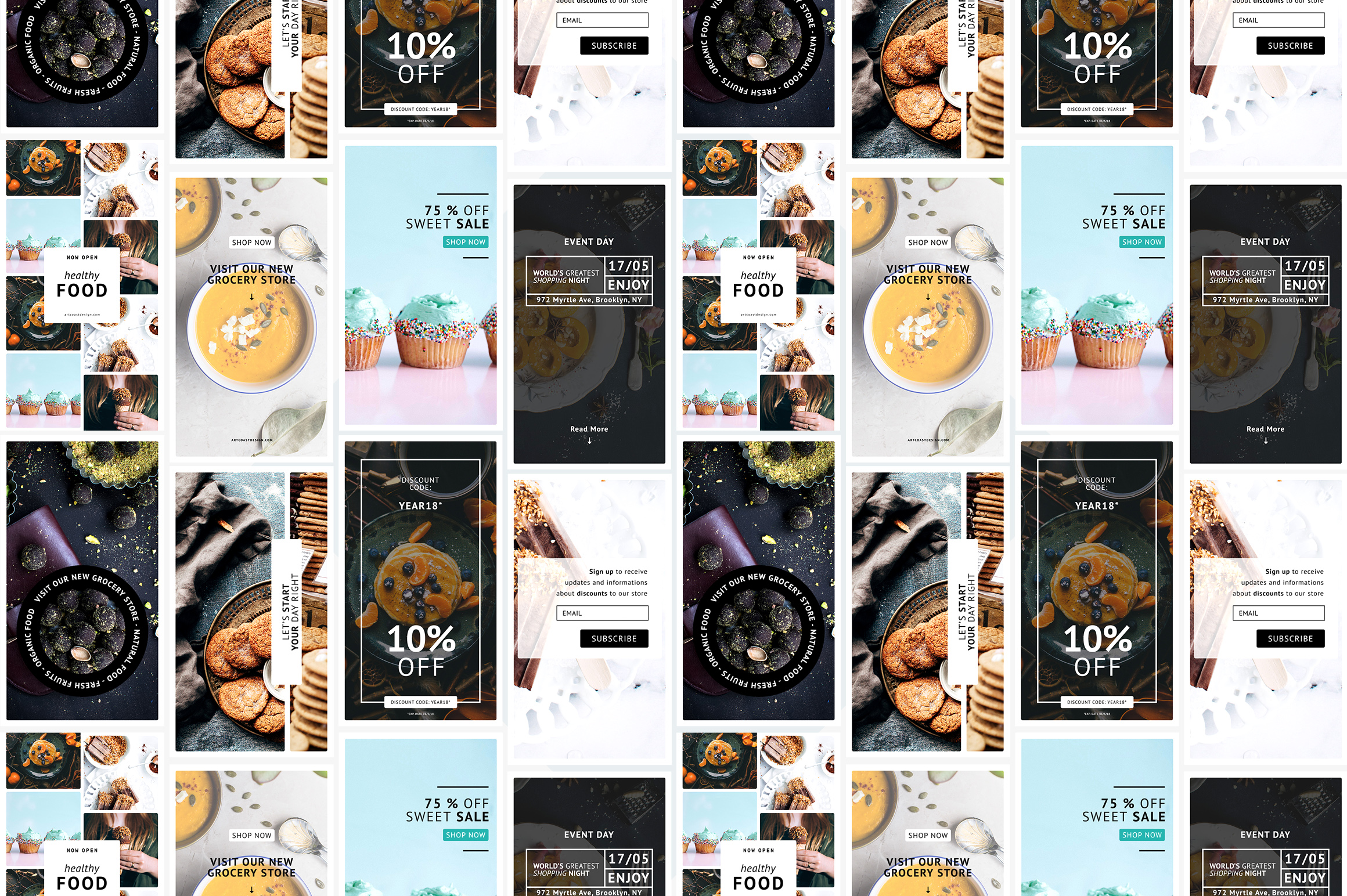 24 Instagram Templates Graphic Graphic Templates By Dmitry Mashkin - Image 3