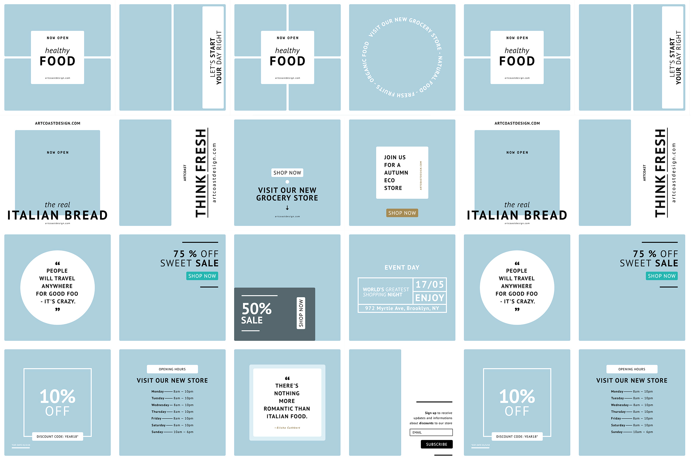 24 Instagram Templates Graphic Graphic Templates By Dmitry Mashkin - Image 5