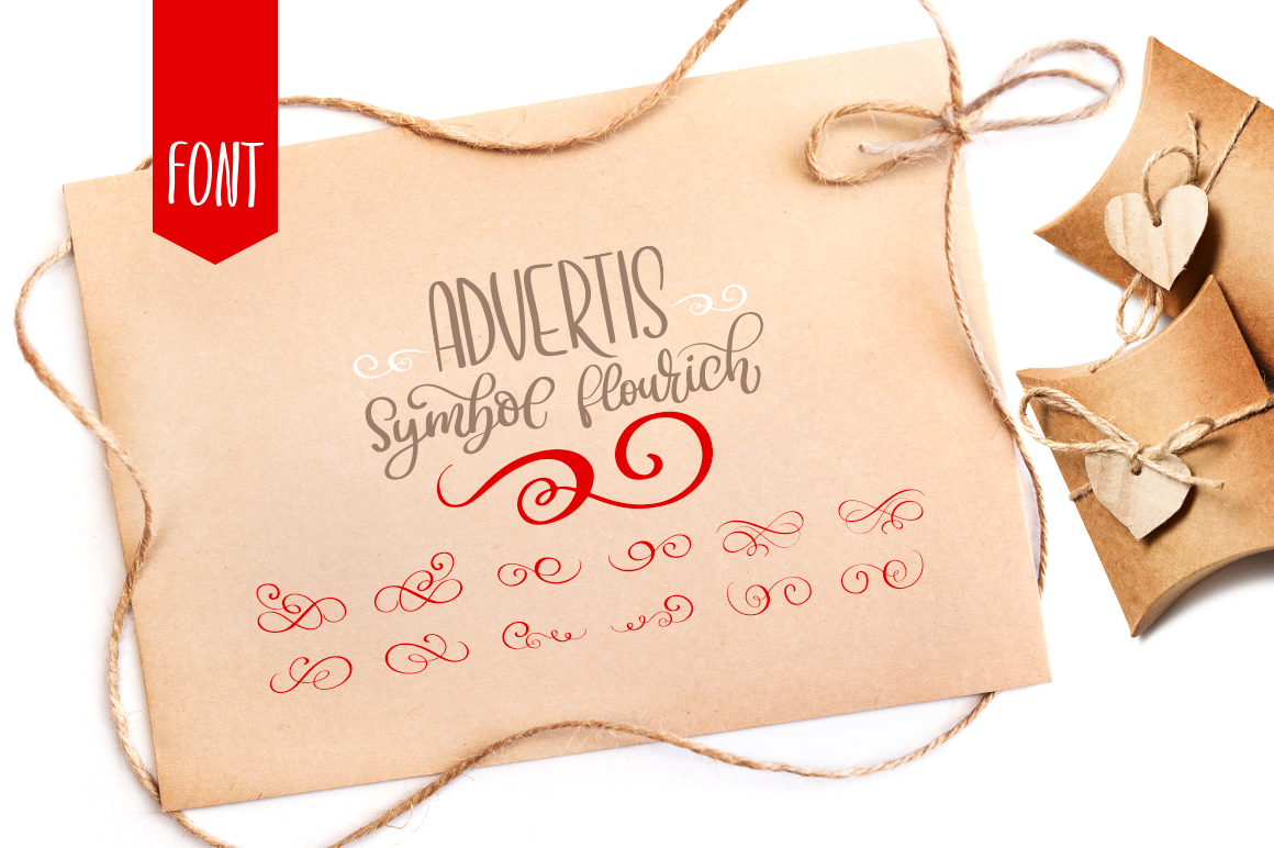 Advertis Font By Happy Letters