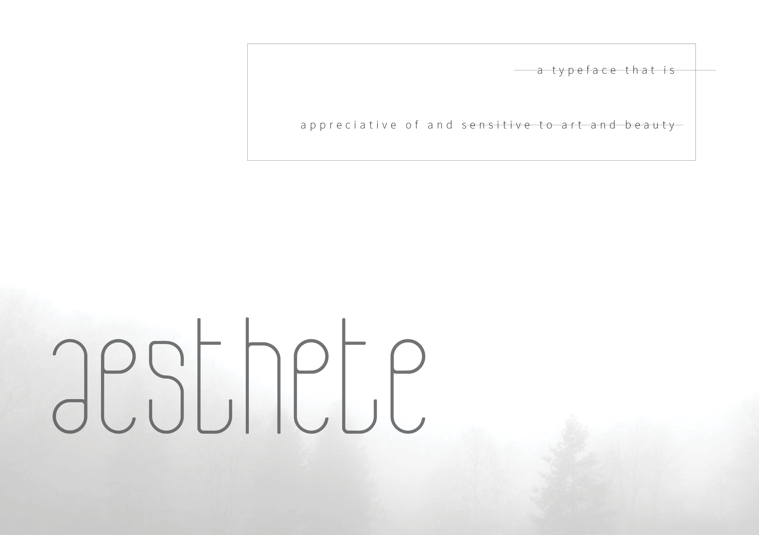 Print on Demand: Aesthete Display Font By eranwaldeck