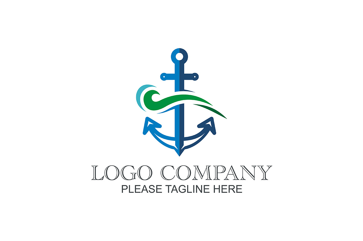 anchor logo graphic by friendesigns creative fabrica
