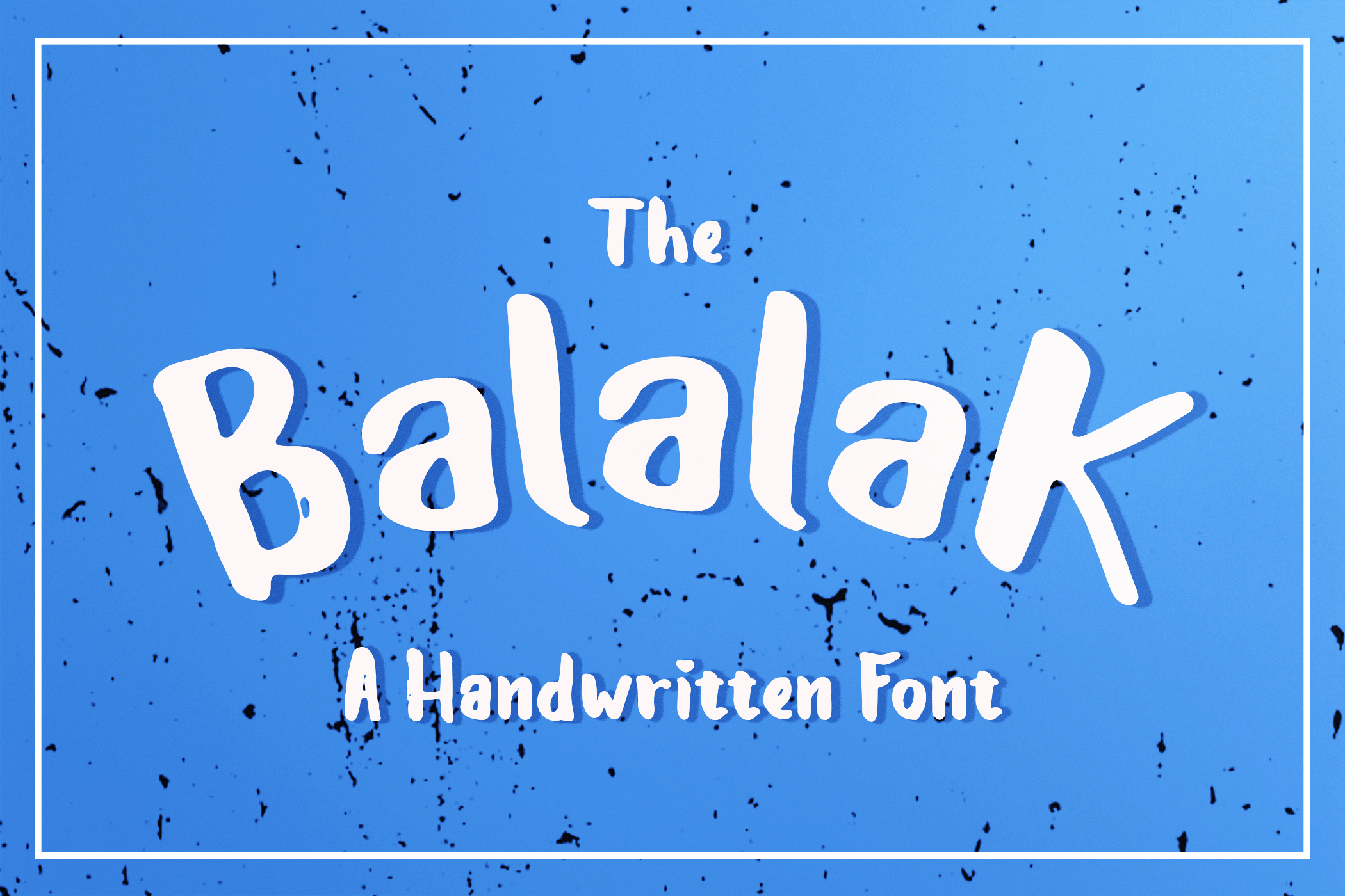 Print on Demand: Balalak Script & Handwritten Font By Best Font Studio