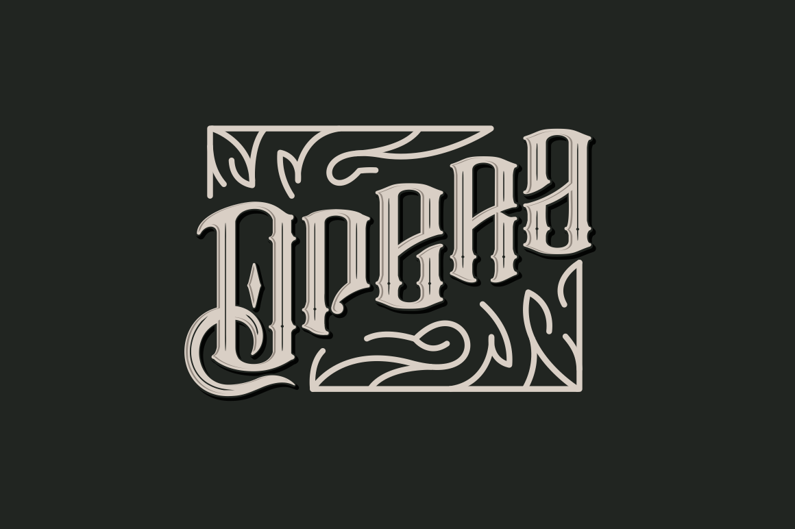 Print on Demand: Barakah Display Font By bombastype - Image 4