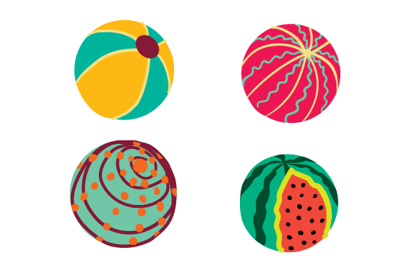 Download Free Beach Balls Svg Cut File By Creative Fabrica Crafts Creative for Cricut Explore, Silhouette and other cutting machines.