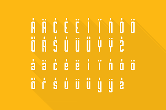 Print on Demand: Borg Font By Creative Fabrica Freebies - Image 4
