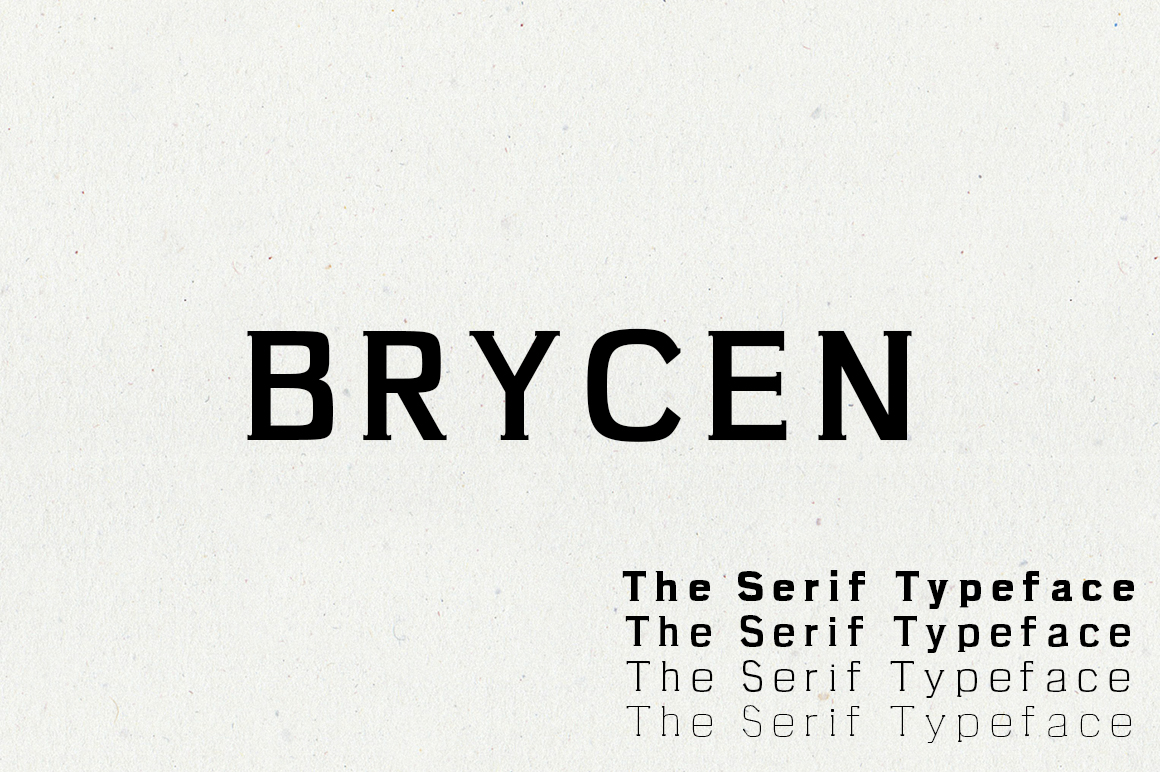 Print on Demand: Brycen Serif Font By Creative Tacos